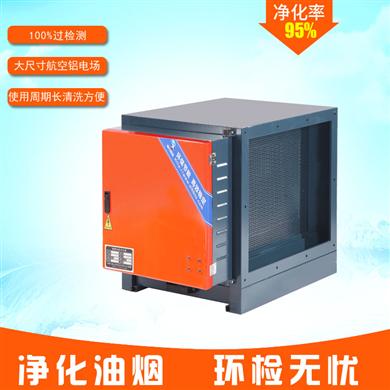 高效型油烟净化器 3000风量