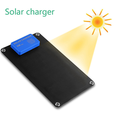5W SUNPOWER solar charger mobile power charging treasure mobile phone universal charge 2600 mAh
