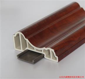 步威竹木纤维集成墙板配套线条:80装饰线
