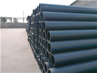 Solid wall water supply pipe