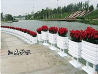 肇庆市花箱道路护栏