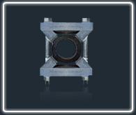 超高压支架型管夹