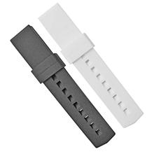594平头硅胶表带20MM防水百搭钟表配件厂家直销