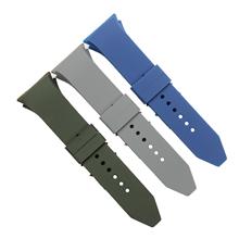 678弯头加头粒顶死硅胶手表带订制批发。