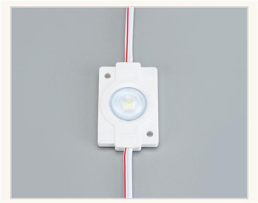 3030/2W 單燈帶透鏡注塑模組