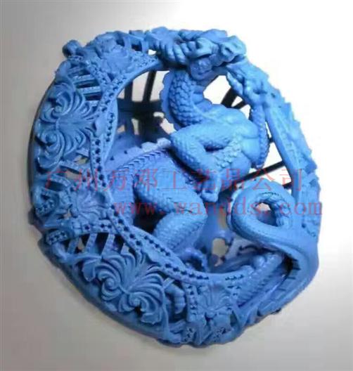 3D打印雕塑龍小樣