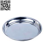 圓形不銹鋼托盤(Stainless steel Plate)ZD-YP03