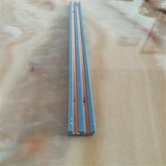 Plastic guide rail for track light