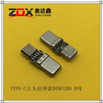USB3.1TYPE-C公�^拉只消星主��w墟秘境出�碇�後伸款�v�DMICRO B母