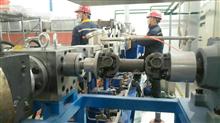 熔體泵調試現場