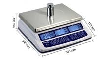 台衡高精度电子桌秤