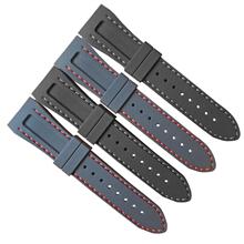 218-25MM弯头车线硅胶表带