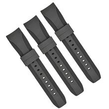 649硅胶弯头22mm表带钟表配件厂家直销