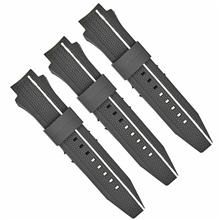 643弯头加头粒双色手表带专业定制钟表配件厂家