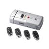 HF-011A华府全自动指纹暗码隐形遥控锁--玻璃门锁公用