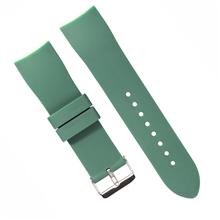 625弯头硅胶表带 厂家直销钟表配件表带