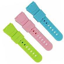 526-19mm弯头儿童智能手表带,颜色多样。