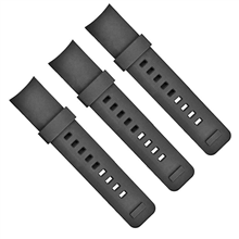528-25MM 弯头硅胶表带