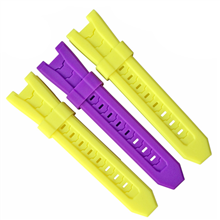 497-24MM平头硅胶表带
