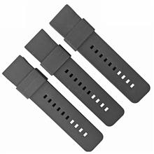 479-22MM新款平头硅胶表带