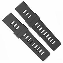 488-24mm平头硅胶表带