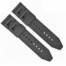 470-24mm平头硅胶表带