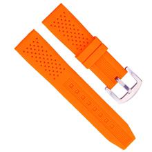639平头20mm有小孔表带 修边20mm方尾表带 硅胶20mm平头表带