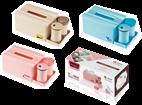 纸巾盒组合套装(带棉、牙签)HZM-1336
