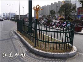咸阳市枪尖绿化带护栏