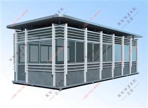 XJ-B45福州不锈钢岗亭生产厂家,福州不锈钢岗亭定制