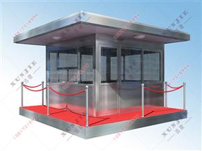 XJ-B47不锈钢岗亭定制,不锈钢岗亭设计