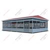 XJ-X15工厂大型吸烟亭,工厂钢结构吸烟亭定做