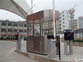 XJ-F03福建小区不锈钢收费亭,医院收费岗亭