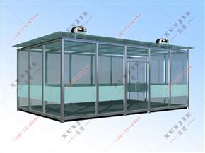 XJ-X11福建工厂吸烟亭定做,福建医院户外吸烟室