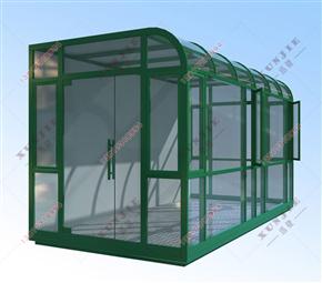XJ-X10三明工厂吸烟亭生产厂家,龙岩钢结构吸烟室