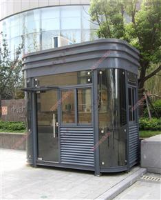 XJ-G41小区钢结构保安亭,小区大门钢结构保安亭