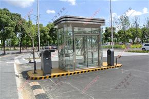XJ-G20福州钢结构岗亭,小区移动式钢结构保安亭