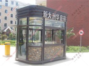 XJ-G03福建钢结构岗亭制造,大门钢结构岗亭