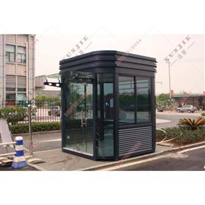 XJ-G01福建钢结构岗亭,小区钢结构门卫亭