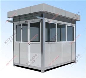 XJ-L06莆田铝塑板岗亭厂家,铝塑板门卫岗亭定做