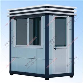 XJ-L10泉州铝塑板岗亭价格,小区铝塑板保安岗亭