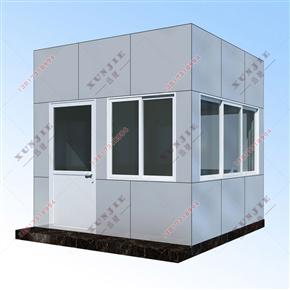 XJ-L11福建铝塑板岗亭定做,铝塑板岗亭制作
