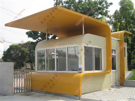 XJ-L12厦门铝塑板岗亭价格,铝塑板岗亭生产加工