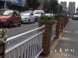 圖木舒克市PVC花箱護欄