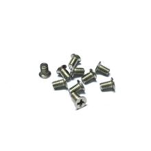 厂家专业定制不锈钢沉头薄头螺丝KM3*5内六角头螺丝滚花圆柱头