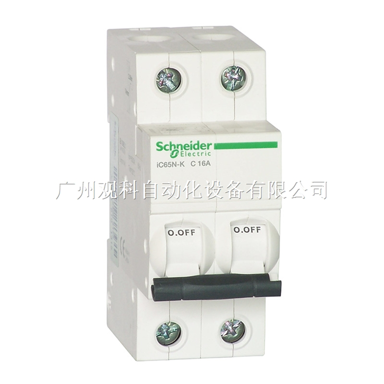 施耐德 iC65微型断路器IC65N 1P B1A