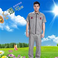 短袖工作服套装 夏装机修工程服劳保服装修工作服