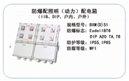 BXM(D)51 防爆配照明(动力)配电箱