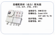 BXM(D)53 防爆配照明(动力)配电箱