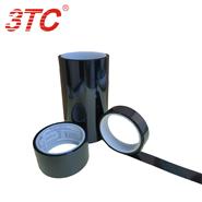 全球超薄黑色半透聚酯薄膜單面膠